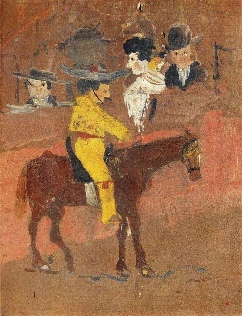 پابلۆ پیکاسۆ، پیکادۆر 1889-1890