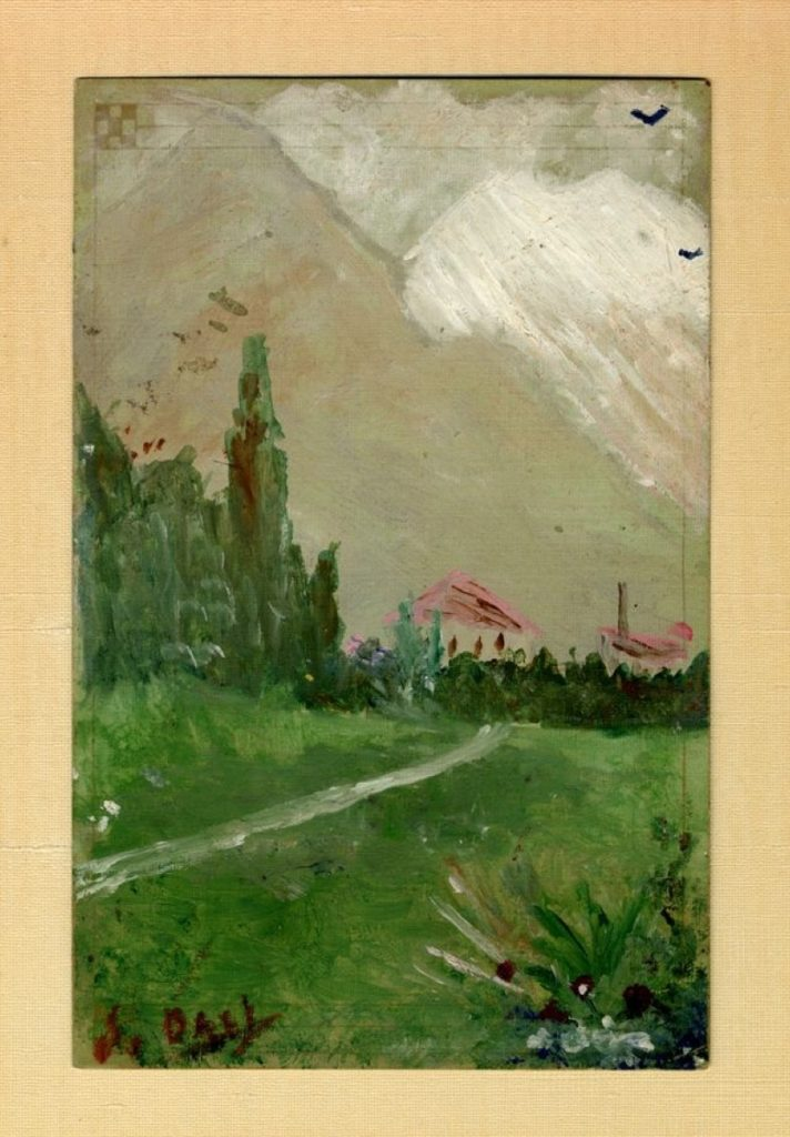 سالڤادۆر دالی، دیمەنی سروشتی، 1910-1914